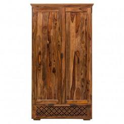 Skřín z masivního palisandrového dřeva Massive Home Rosie, 120 x 200 cm Rosie Šatní skříně ROS026