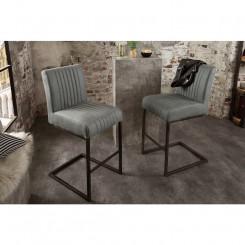 Barová židle s kovovými...
