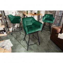 Barová židle ze sametu,...