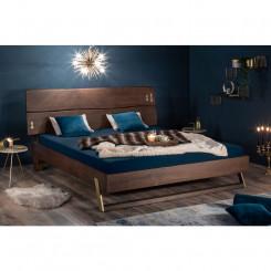 Dvoulůžková postel z akátu...