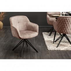 Moderní otočná židle ze...