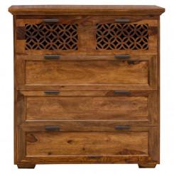 Komoda z palisandrového dřeva s 5 zásuvkami Massive Home Rosie Rosie TV stolky a komody ROS205