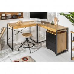 Rohový psací stůl 130 cm Sedan