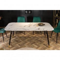 Skleněný jídelní stůl,...
