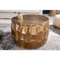 Zlatý konferenční stolek z...