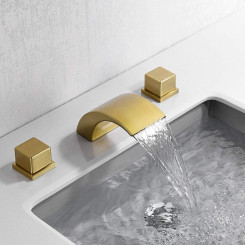 Vodpoádová koupelnová baterie Zoe I - Zlatá Zoe Koupelnové baterie MHM1011GNW