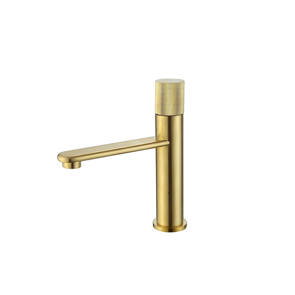 Kompaktní minimalistická koupelnová baterie Zoe III - Zlatá Zoe Koupelnové baterie MHM2382GN-H