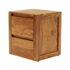 Dřevěný noční stolek Ruby I