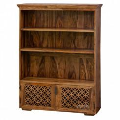 Dvoudveřová knihovna z palisandrového dřeva Massive Home Rosie Rosie Knihovny ROS032