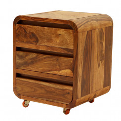 Dřevěný noční stolek Ruby II