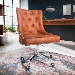 Kancelářská židle Cambridge světle hnědá Chesterfield Light Jídelní židle MH401660