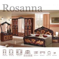 Hnědočerná Barokní ložnice Rosanna  Ložnice MHDIA-021