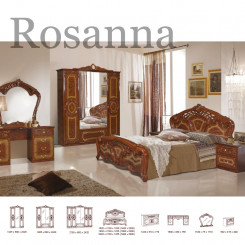 Hnědá Barokní ložnice Rosanna  Ložnice MHDIA-020