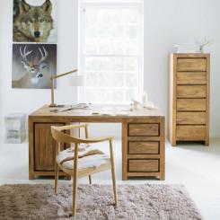 Dřevěný psací stůl Ruby II