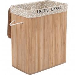 Koš na prádlo z bambusu Laura V Laura Dekorace LCB62Y