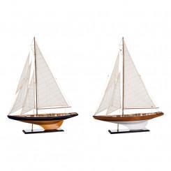 Dřevěný model plachetnice 75x99 Verona Dekorace MH66301I