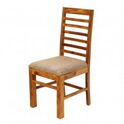 Židle s polstrovaným sedákem palisandrového dřeva Massive Home Irma Irma Jídelní židle SCT202