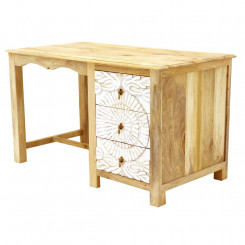 Pracovní stůl z masivního mangového dřeva Massive Home Sweet Sweet Pracovní a psací stoly SWT030