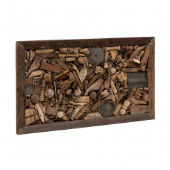 Dřevěný obraz Zanzibar
