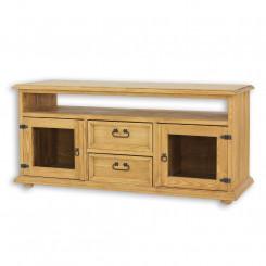 Dřevěný TV stolek Corona IX Corona TV stolky a komody TVT09