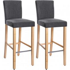 Sada 2 barových stoliček Gastro XIV Gastro Barová židle MHLDC31GY