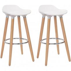 Sada 2 barových stoliček Gastro III Gastro Barová židle MHLJB20W