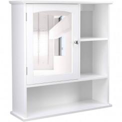Koupelnová skříňka se zrcadlem Laura IV Laura Nástěnné skříňky MHBBC23WT