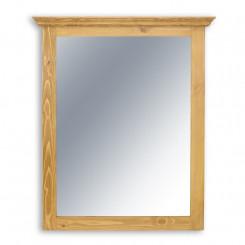 Dřevěné zrcadlo Corona III
