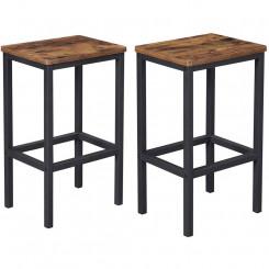 Sada 2 barových stoliček Vintage I Vintage Barová židle LBC65X