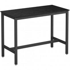 Černý barový stolek Caya Laura Barové stolky MHLBT91BK