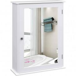 Koupelnová skříňka se zrcadlem Laura V Laura Nástěnné skříňky MHLHC001