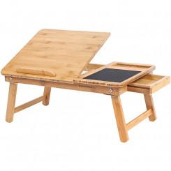 Nastavitelný bambusový stolek II Laura Odkládací stolky MHLLD008