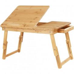 Nastavitelný bambusový stolek III Laura Odkládací stolky MHLLD01N
