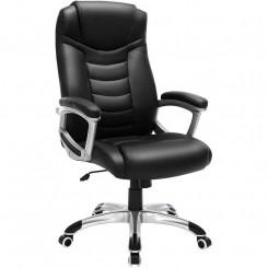 Černá kancelářská židle na...