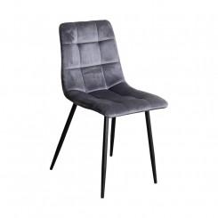 Jídelní židle OSLO šedý samet Oslo Jídelní židle 4091