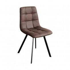 Jídelní židle OSLO hnědé mikrovlákno Oslo Jídelní židle MH4093