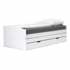 Rozkládací pohovka/postel ELISABETH bílý lak Postele 8801B