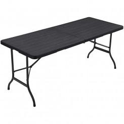 Skládací kempingový stůl I Garage Bytové doplňky MHGPT05BK