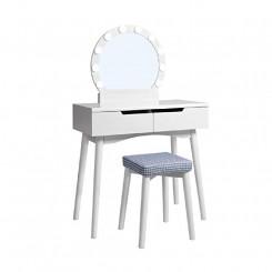 Toaletní stolek bílý Laura I Laura Konzolové stolky RDT11WL