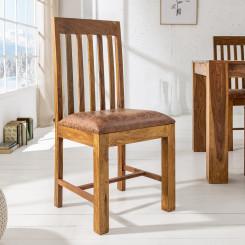 Židle Makassar masiv Makassar Jídelní židle MMZ-39751