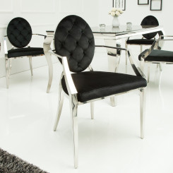 Židle Modern Barock Prošívaná - Opěradla Modern Barock Jídelní židle OZM-37355