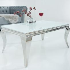 Konferenční stolek Modern Barock - Bílé Stříbro Modern Barock Konferenční stolky BSK-37353
