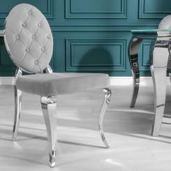 Židle Modern Barock - Šedá Modern Barock Jídelní židle SZ-38342