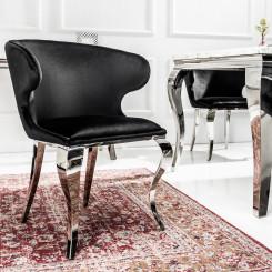 Židle Modern Barock Černá Modern Barock Jídelní židle CS-38871